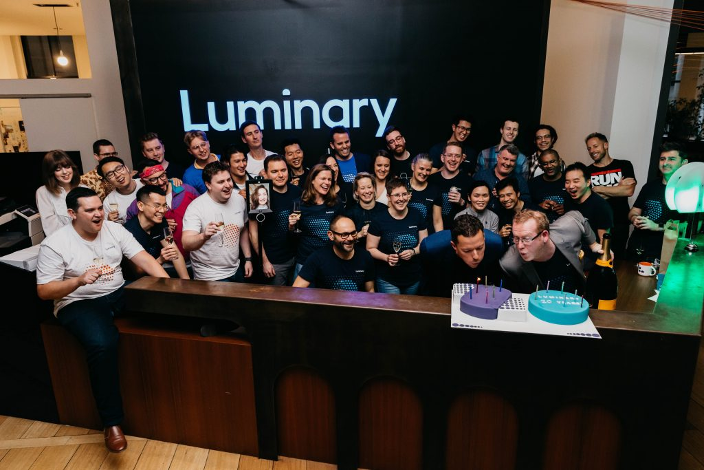 Luminary Great Place to Work Certified